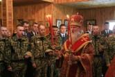 Престольный праздник в полковом храме Великомученика Георгия Победоносца