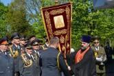 Вручение хоругви могилевским милиционерам