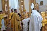 Архиерейское богослужение в Неделю Всех святых