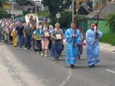 В Костюковичском районе состоялся крестный ход в честь Казанской иконы Божией Матери
