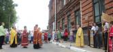 Крестный ход, посвященный 100-летию кончины царской семьи Романовых и памяти создания Чаусского казачьего полка