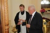 Посол Республики Молдова посетил в Чаусах Вознесенский храм