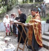 Водосвятный молебен на Понтелеимоновском источнике в Костюковичском районе