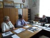 Состоялась встреча архиепископа Софрония  с руководством Славгородского района