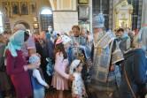 В канун праздника Успения Божией Матери архиепископ Софроний совершил всенощное бдение