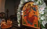 Архиепископ Софроний совершил Литургию в храме иконы Божией Матери «Всецарица»