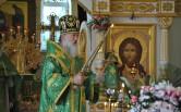 Архиепископ Софроний совершил Литургию в Серафимовском храме города Могилева