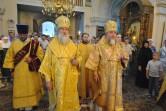 Всенощное бдение в Никольском монастыре в канун дня памяти святителя Георгия Могилевского