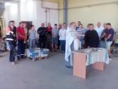 Благочинный Чаусского округа освятил помещения нового  белорусско-российского производственного  предприятия