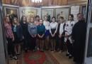 Чаусские школьники посетили выставку «Венценосная Семья. Путь Любви»