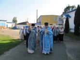 Престольный праздник в Рождество-Богородичном храме города Черикова