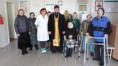 В Кричеве настоятель Покровского храма посетил больницу сестринского ухода