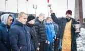 Протоиерей Сергий Лобода благословил новых призывников из Могилева