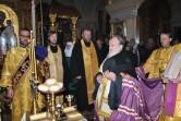 В канун дня памяти святителя Николая Чудотворца архиепископ Софроний совершил всенощное бдение в Никольском монастыре города Могилева