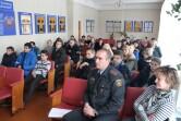 В Чаусах священник принял участие в беседе с подростками,  состоящими на учете в комиссии  по делам несовершеннолетних