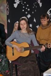 В библиотеке им. А. С. Пушкина прошел  Рождественский концерт Православного клуба поэзии и авторской песни «Возрождение».