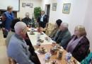 Рождественская встреча в объединении инвалидов по зрению
