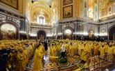 Архиепископ Софроний принял участие в праздновании 10-й годовщины интронизации Патриарха Кирилла