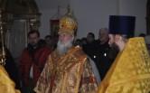 Архиерейское богослужение в Неделю о мытаре и фарисее