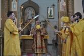 Архиерейское богослужение в Неделю сыропустную