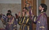В Неделю Торжества Православия архиепископ Софроний совершил Божественную Литургию в Спасском соборе города Могилева