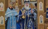 Служение архипастыря в праздник Благовещения Пресвятой Богородицы
