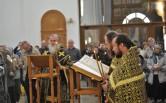 В канун Великого Пятка архиепископ Софроний совершил утреню с чтением двенадцати Страстных Евангелий