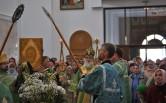 В Неделю Ваий архиепископ  Софроний совершил Литургию в Спасо-Преображенском  кафедральном соборе