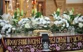 Великий Пяток.  Архиепископ Софроний совершил вечерню с выносом Плащаницы