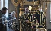 Архиепископ Софроний совершил последнюю в этом году Литургию Преждеосвященных Даров