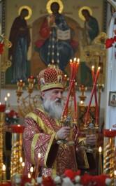 Пасхальный визит архиепископа Софрония в город Кричев