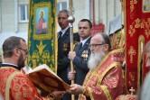 Владыка Софроний поздравил могилевскую бригаду внутренних войск с Пасхой и праздником Георгия Победоносца