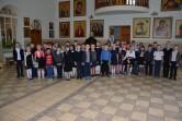 Дети пришли в храм