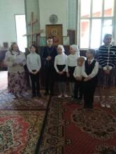 Очередной выпуск учащихся  воскресной школы при соборе Трех Святителей города Могилева