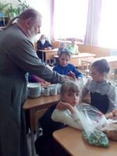 Посетителей православного кружка «Ступени к Богу» в чаусской школе поздравили с Пасхой
