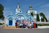Прихожане Свято-Николаевского храма г. Кричева посетили Петро-Павловский кафедральный  собор г. Гомеля