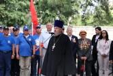 Настоятель Казанского храма  участвовал в мероприятии, посвященном Победе в Великой Отечественной войне и освобождению Могилева
