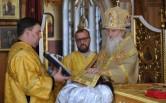 В Неделю 2-ю по Пятидесятнице архиепископ Софроний совершил Божественную Литургию и диаконскую хиротонию в Трехсвятительском соборе