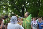 В День Святой Троицы в Кричевском районе освятили криницу