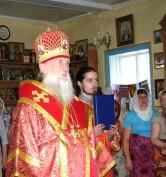 Архиепископ Могилевский и Мстиславский Софроний совершил Божественную Литургию в Свято-Николаевском Храме г. Кричева