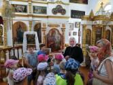 В Климовичах для детей состоялась просветительская экскурсия по Михайловскому храму