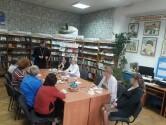 В Климовичском районе в сельской библиотеке состоялось мероприятие, посвященное традиционным семейным ценностям