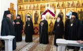 В канун дня памяти первоверховных апостолов Петра и Павла архиепископ Софроний сослужил Патриаршему Экзарху всея Беларуси