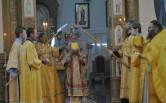 Архиерейское богослужение в праздник Рождества Иоанна Крестителя