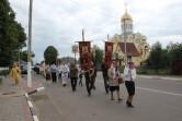 Крестный ход, приуроченный празднику семьи, любви и верности, состоялся в Чаусах