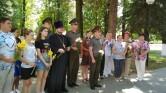 В Черикове священник принял участие в праздновании 75-ой годовщины освобождения Беларуси