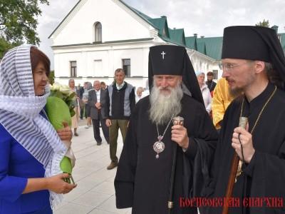 Архиепископ Софроний принял участие в торжествах, посвященных 25-летию возрождения Ляденского монастыря прошли