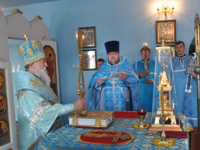 Престольный праздник храма Рождества Пресвятой Богородицы в Черикове