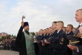 Благословение новых курсантов института МВД