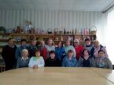 В Черикове прошла беседа с пожилыми людьми о празднике Воздвижения Креста Господня